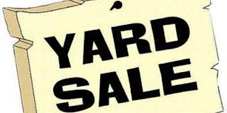 Indoor/Outdoor Yard Sale tickets