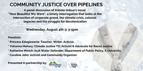 Community Justice Over Pipelines tickets