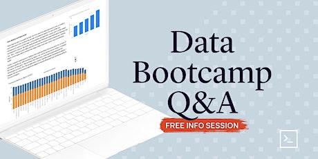 Data Analytics Bootcamp Q&A tickets