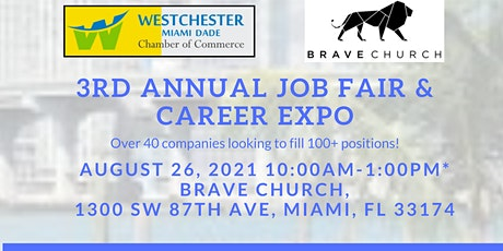 Third Annual Job Fair  & Career Expo CORPORATE VENDOR SIGN UP tickets