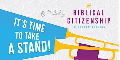 Biblical Citizenship Study tickets