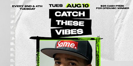 Catch These Vibes Lounge  (2nd Tuesdays   Poetry Feature) tickets