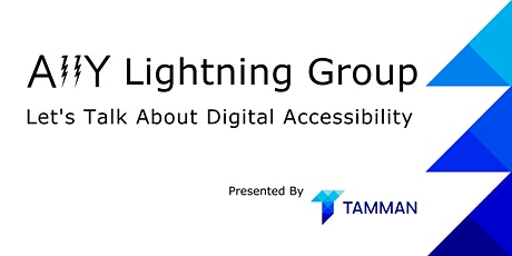 A11y Lightning Group Series (September 2021) tickets