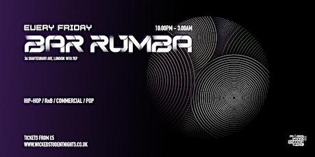 Bar Rumba // Every Friday tickets