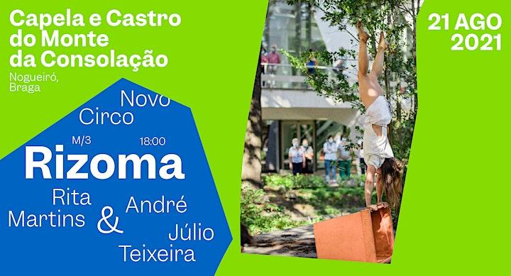 "imagem Novo Circo - ""Rizoma"" Rita Martins & André Júlio Teixeira"