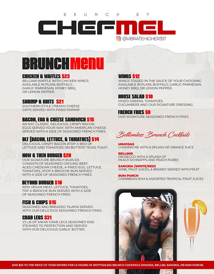 Caribbean Vibes Bottomless Brunch & Day Party BK Edition image