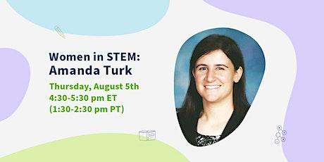 Meet Amanda Turk, Science Curriculum Developer at AoPS! tickets