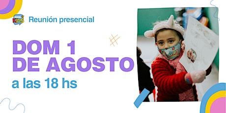 Reunión Presencial en Caudal de Vida -KIDS- Domingo 01/08 18hs. entradas