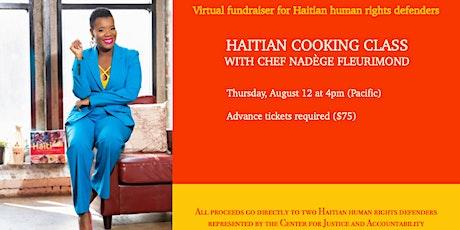 Virtual Haitian Cooking Class Fundraiser tickets