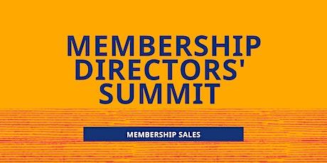 Membership Directors' Summit tickets