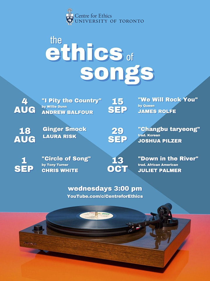 """The Ethics of Songs: Juliet Palmer on """"Down in the River"""" image"""