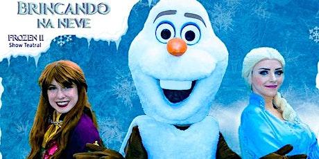 Desconto! Espetáculo Frozen II - Brincando na Neve no Teatro Corinthians ingressos