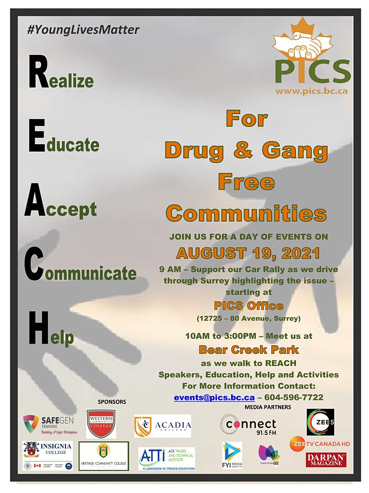 REACH for Drug and Gang Free Communities image