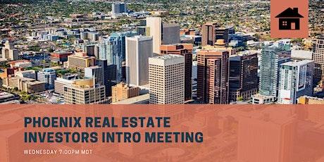 Phoenix Real Estate Investors   Introduction Meeting Webinar tickets