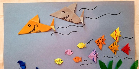 Origami Shark and Fish Children Workshop (Paper Sea Animal Creatures) tickets