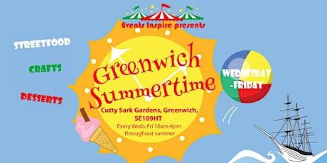 Greenwich Summertime Market tickets