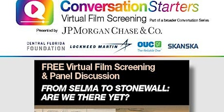onePULSE Foundation Conversation Starters - From Selma to Stonewall tickets