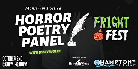 FRIGHT FEST Monstrum Poetica: a Horror Poetry Panel Discussion tickets
