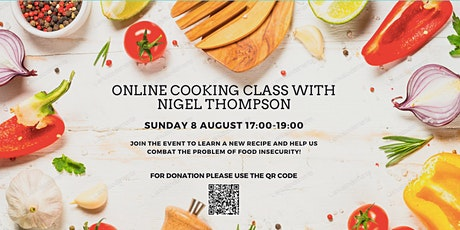 Online Cooking Class with Nigel Thompson (@teawithmrt) tickets