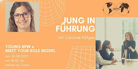 Jung in Führung gehen – meet a rolemodel Tickets