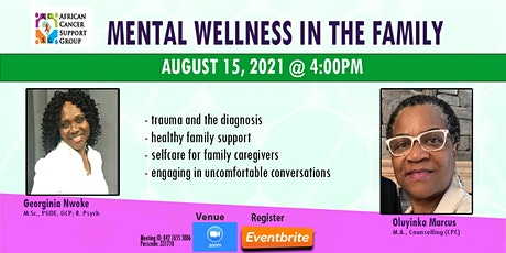 Mental Wellness in the Family tickets