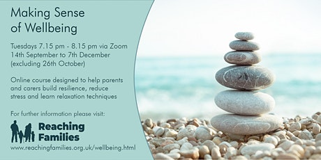 Making Sense of Wellbeing  -  Managing Anxiety tickets
