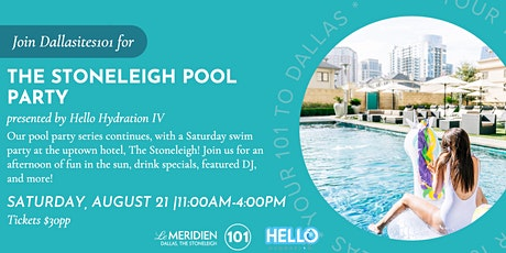 The  Stoneleigh Pool Party tickets
