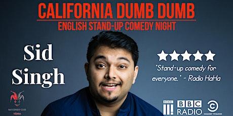 Sid Singh (U.S.) - English Stand-Up Comedy Night tickets