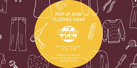 Monthly Repair Cafe Pop Up and Clothes Swap tickets