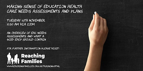 Making Sense of Education Health Care Needs Assessments and Plans tickets