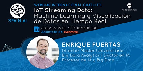 Webinar (AI Tech Talk): IoT Streaming Data: ML y Visualización de Datos tickets