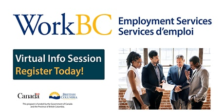WorkBC Vancouver Northeast - Employer Wage Subsidy Info Session tickets