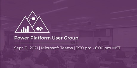 Calgary Power Platform User Group Meeting | September tickets