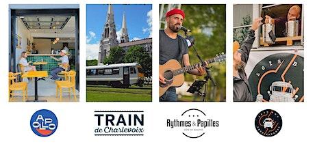 Forfait Train de Charlevoix et Rythmes & Papilles, vendredi 20 août billets
