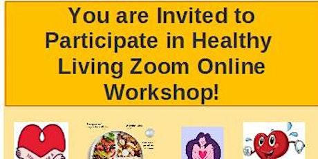 Healthy Living Workshop tickets