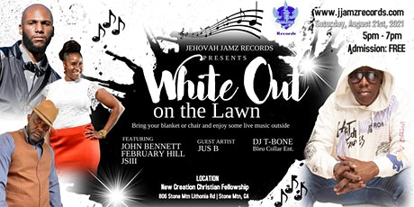 """""""White Out on the Lawn"""", a Christian music concert. tickets"""