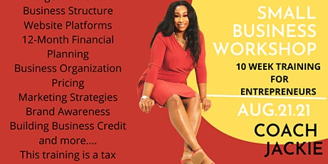 Small Business Workshop- BIPOC tickets