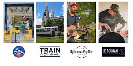 Forfait Train de Charlevoix et Rythmes & Papilles, samedi 21 août billets