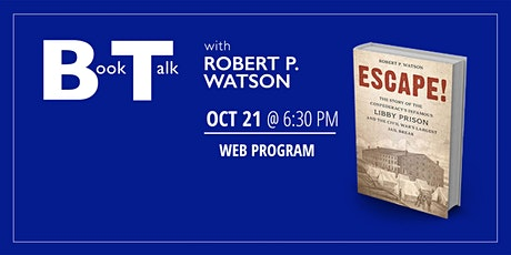Book Talk with Robert Watson tickets
