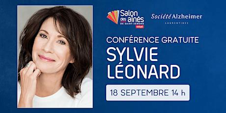 Conférence gratuite de Sylvie Léonard tickets