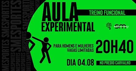 AULA DEMONSTRATIVA - FUNCIONAL 04.08 ÀS 20H40 tickets