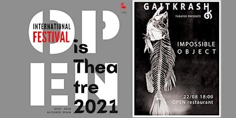 Proyecto Teatro Experimental - Impossible Object (Irlanda) + charla entradas