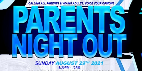 """Riviera Beach District 5 & Mind Over You, Inc. Presents """"Parents Night Out"""" tickets"""