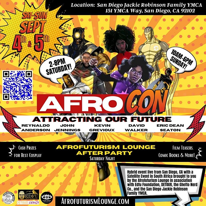 Afro Con 2021: Attracting Our Future image