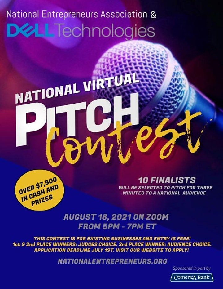 2021 National Virtual Pitch Contest Part II image