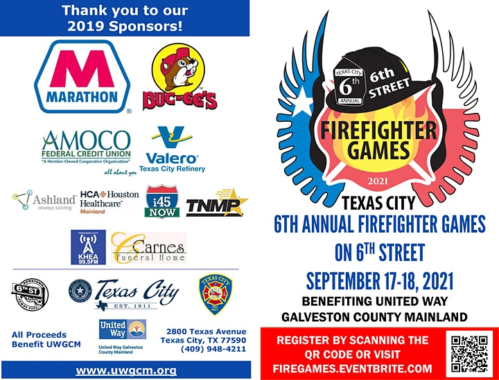 6th Annual Firefighter Games on 6th Street image