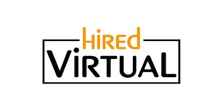 HiredVirtual Chicago Tech Hiring Event VIRTUAL tickets