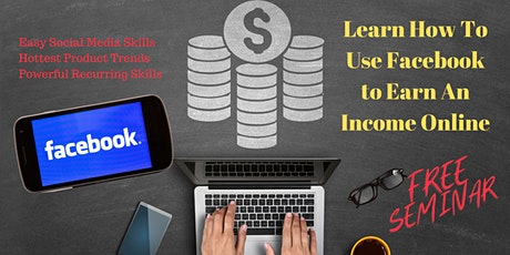 Facebook Marketing For Dummies To Earn An Online Income tickets