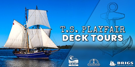 TS Playfair Deck Tours | Friday tickets