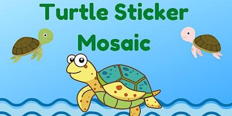 Turtle Sticker Mosaic Kit (Preschool / Elementary School) tickets